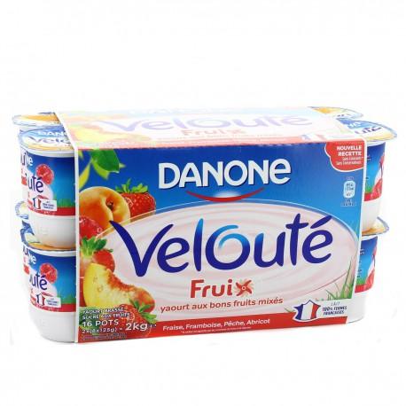 Danone Vel.Fruix Ft Mix16X125G
