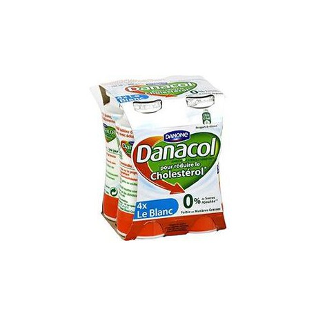4X100G Yaourt A Boire Nature Danacol