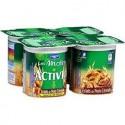 Activia Bif.Noix Cereal.4X125G
