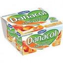 4X125G Yaourt Fruits Jaunes Danacol