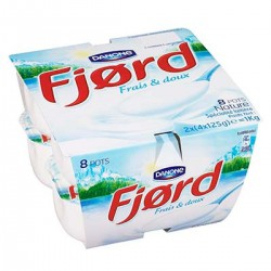 Fjord Fromage Frais Nature Fjord 8X125G