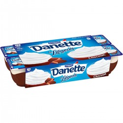 8X100G Liegeois Chocolat Danette