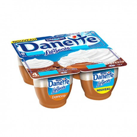 4X100G Liegeois Expresso Danette
