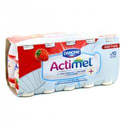 Actimel Actimel Aromatisé Saveur Fraise 10X100G