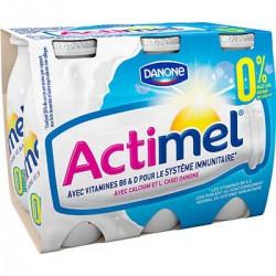 6X100G Actimel 0% Nature