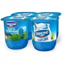 Danone Yaourt Danone Nature 4X125G