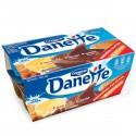 12X115G Creme Dessert Chocolat/Vanille Danette