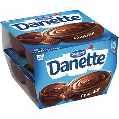 Danette Crème Dessert Danette Chocolat 8X125G