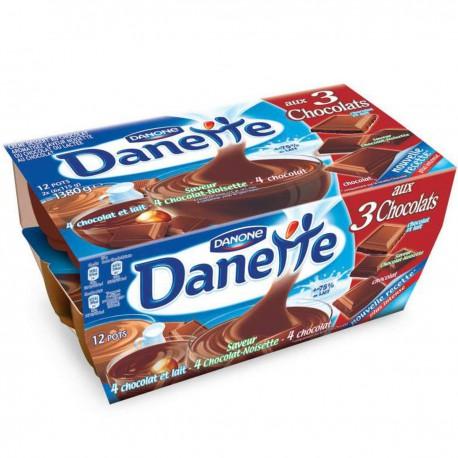 Danette 3 Choco 12X115G