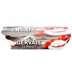 Gervais Gervais Bicouche Fraise 2X115G