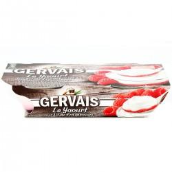 2X115G Yaourt Bicouche Framboise Gervais