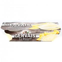 2X115G Yaourt Bicouche Saveur Citron Gervais