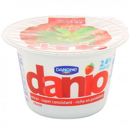 150G Yaourt 0% Fraise Danio