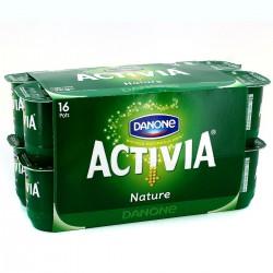 16X125G Yaourt Bifidus Nature Activia