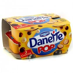 4X117G Creme Dessert Pop Vanille-3 Chocolat Danette