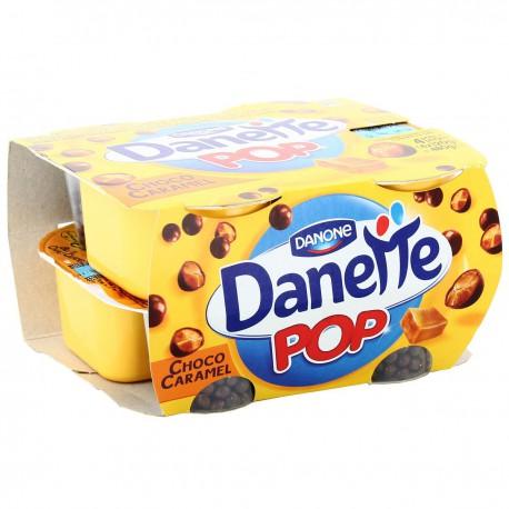 4X120G Danette Pop Vani-Caram.