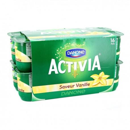 16X125G Activia Saveur Vanille