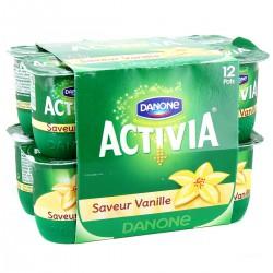 12X125G Activia Saveur Vanille