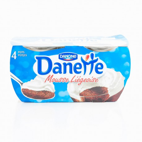 4X80G Liegeois Chocolat Danette