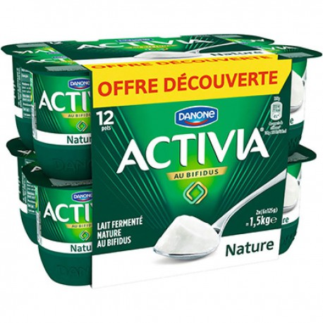 Activia Bifidus Nature 12X125G