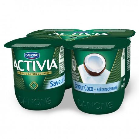 Activia Saveur Coco 4X125G