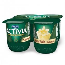 Activia Saveur Vanille 4X125G