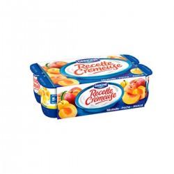 Recette Cremeuse Fruits Jaunes 8X125G