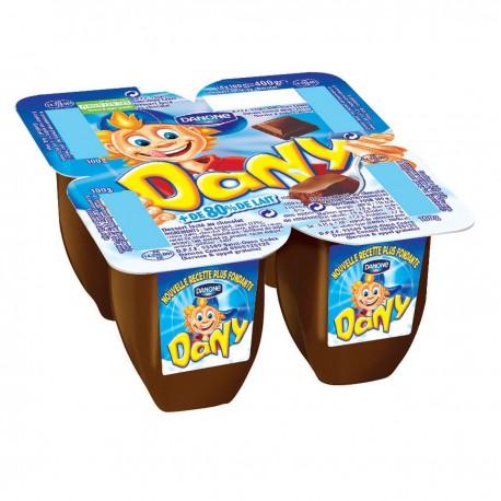Danone Dany Chocolat 4X100G