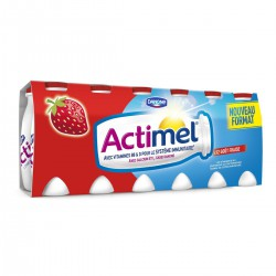 Actimel Gout Fraise 12X100G