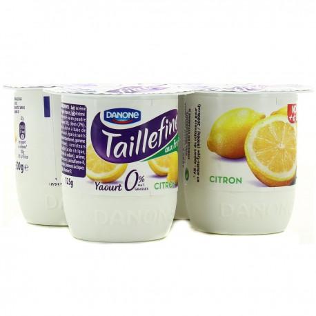 Taillefine Fruit Citron 4X125G