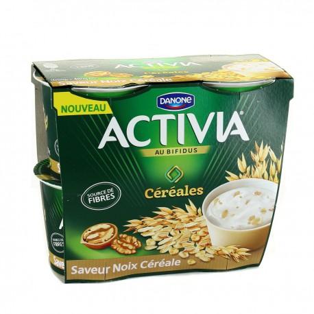 Activia Cereales Noix 4X120G