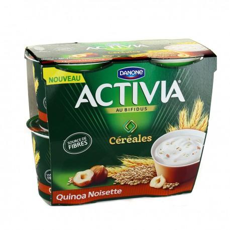 4X120G Activia Quinoa/Noisette