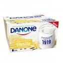 Danone Yrt Lait Ent Van 4X125G