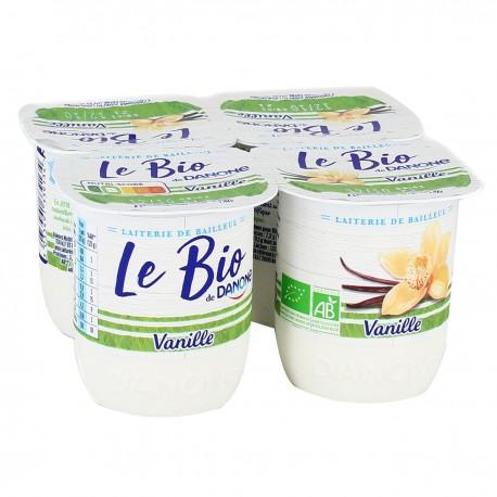 Danone Le Bio Vanille 4X125G