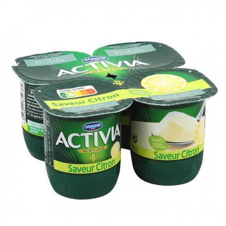 Activia Saveur Citron 4X125G