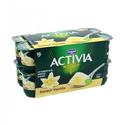 Activia Saveur Vanille 16X125G
