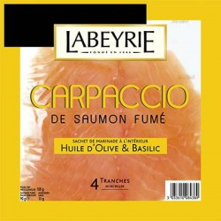 Carpaccio Saumon Fume 90G+15G Sauce 105G Labeyrie