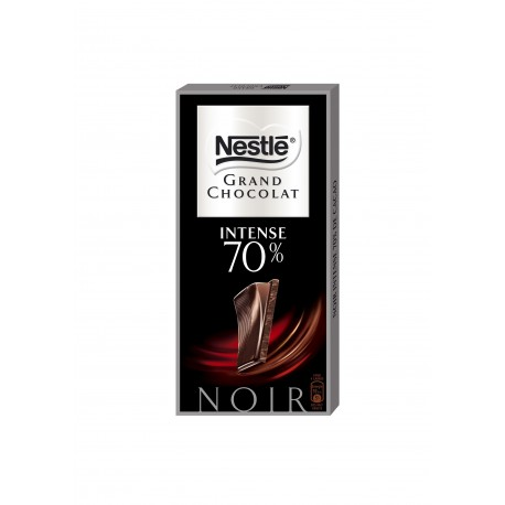 Tablette 100G Grand Chocolat Noir Intense 70% Nestle