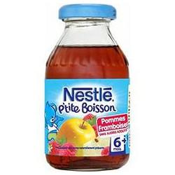 Nestle Jus Pommes/Framboises 6 Mois Nestlé Bouteille 20Cl