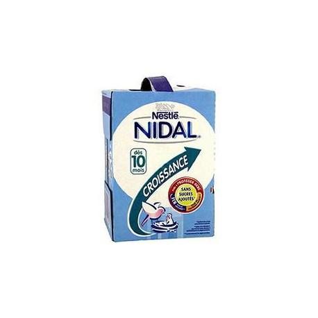 Nidal Lait De Croissance 10 Mois Tetra Brick 4X1L