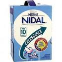 Nidal Croissance Lait Bébé Liquide Dès 1 An Les 4 Briques De 1 L