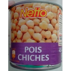 Netto Pois Chiches 265G