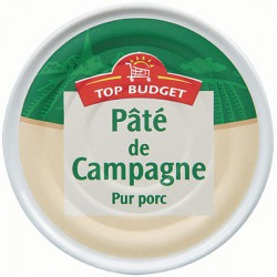 Top Budget Pate Campagne 130G