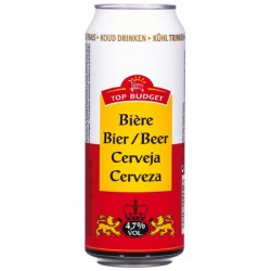 Top Budget Biere 4.2¢Bte 50 Cl