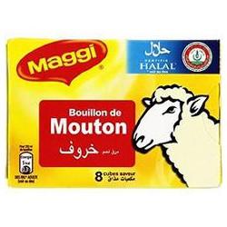 Tablette 8X10G Bouillon Mouton Halal Maggi