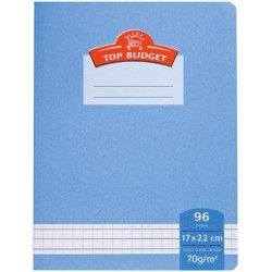 Top Budget Cahier Agrafe 17X22