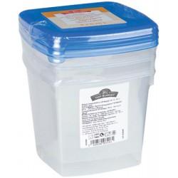 Tb Lot Boites 3X0.75L Bleu