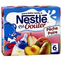 Nestle Lt+Frt Pech/Poir2X250Ml