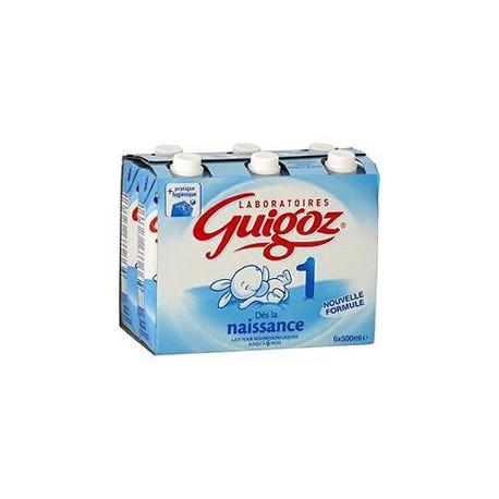 6X500Ml Lait 1Er Age Liquide Guigoz