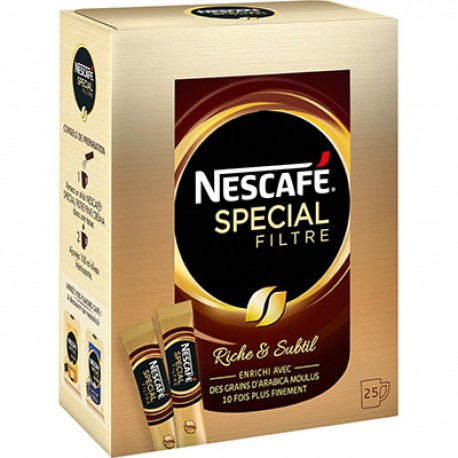 Dose 25X2G Special Filtre Nescafe
